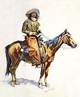 Arizona cow-boy, 1901, remington