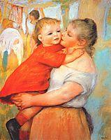 Aline and Pierre, 1887, renoir