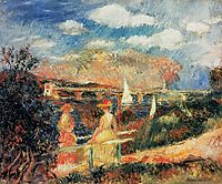 The Banks of the Seine at Argenteuil, 1880, renoir