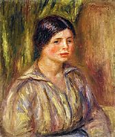 Bust of a Young Woman, 1913, renoir