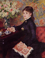 The Cup of Chocolate, 1878, renoir