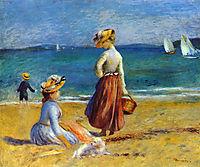 Figures on the Beach, renoir