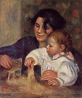 Gabrielle and Jean, 1895, renoir