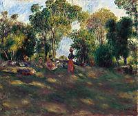 Landscape, 1881, renoir
