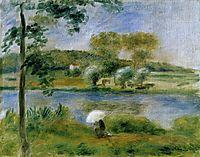 Landscape Banks of the River, renoir