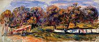 Landscape with Orchard, 1910, renoir