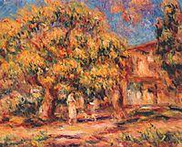 Lime Tree and Farmhouse, c.1919, renoir