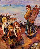 Mussel Fisherman, 1879, renoir