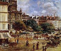 Place de la Trinite, 1875, renoir