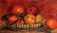 Still Life with Apples and Oranges, c.1897, renoir