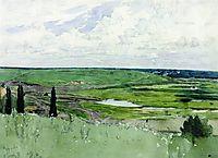 Landscape near Chuguevo, repin