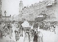 Nevsky Avenue, 1887, repin