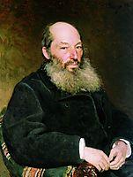 Portrait of the Poet Afanasy Fet, repin