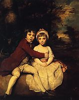John Parker and his Sister Theresa, 1779, reynolds