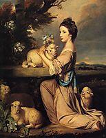 Lady Mary Leslie, 1764, reynolds