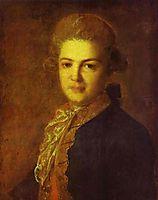 Portrait of Count Artemiy Ivanovich Vorontsov, 1765, rokotov