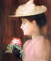 Portrait of Mrs. Pataki, 1892, ronai