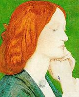 Elizabeth Siddal, rossetti
