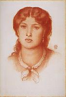 Fanny Cornforth, 1868, rossetti