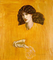 The Lady of Pity (La Donna della Finestra), rossetti