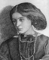 Mrs. Burne Jones, rossetti