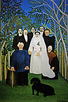 A Country Wedding. , 1904-1905, rousseau