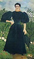 Portrait of Lady, 1895-7, rousseau