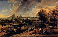 Back Fields, 1640, rubens