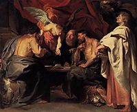 The four Evangelists, 1614, rubens