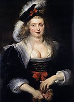 Portrait of Helene Fourment with Gloves, c.1632, rubens
