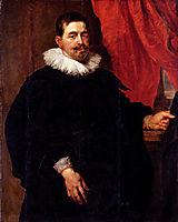 Portrait of a Man, Probably Peter Van Hecke, rubens