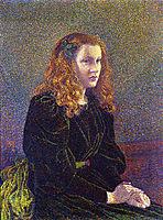 Girl in Green, 1892, rysselberghe
