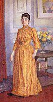 Portrait of Madame van Rysselberghe, 1891, rysselberghe