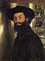 Alberto Falchetti, 1905, sargent