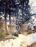 Corfu The Terrace, 1909, sargent