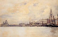 The Entrance to the Grand Canal, Venice, sargent