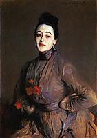 Flora Priestley, 1889, sargent
