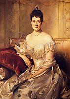 Mrs. Mahlon Day Sands (Mary Hartpeace), 1894, sargent