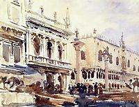 The Piazzetta and the Doge-s Palace, 1907, sargent