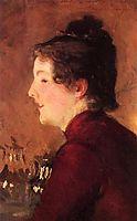 A Portrait of Violet, 1889, sargent