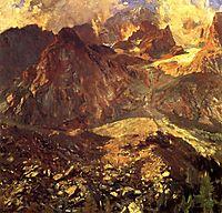 Val D-Aosta, Purtud, 1907, sargent