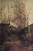 Alley, c.1870, savrasov