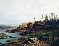 Rafts, 1868, savrasov