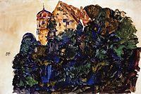 Deuring Castle, Bregenz, 1912, schiele