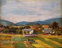 Landscape in Lower Austria, 1907, schiele
