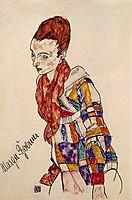 Portrait of Marga Boerner, 1917, schiele