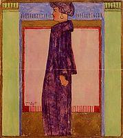 Standing Woman, 1908, schiele