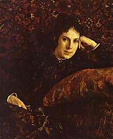 Portrait of Yekaterina Chokolova, 1887, serov