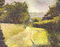The Hollow Way, 1882, seurat