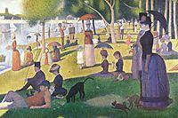 A Sunday on La Grande Jatte, 1884-86, seurat